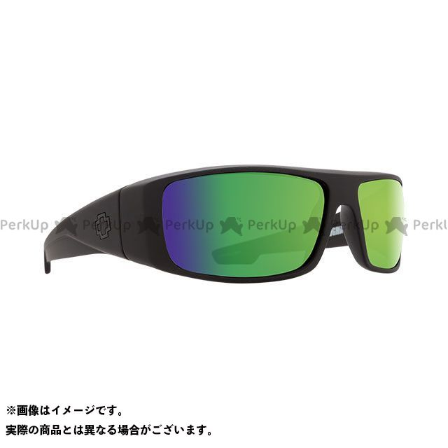 【エントリーで更にP5倍】SPY LOGAN(MATTE BLACK-HAPPY BRONZE POLAR w/GREEN SPECTRA) スパイ