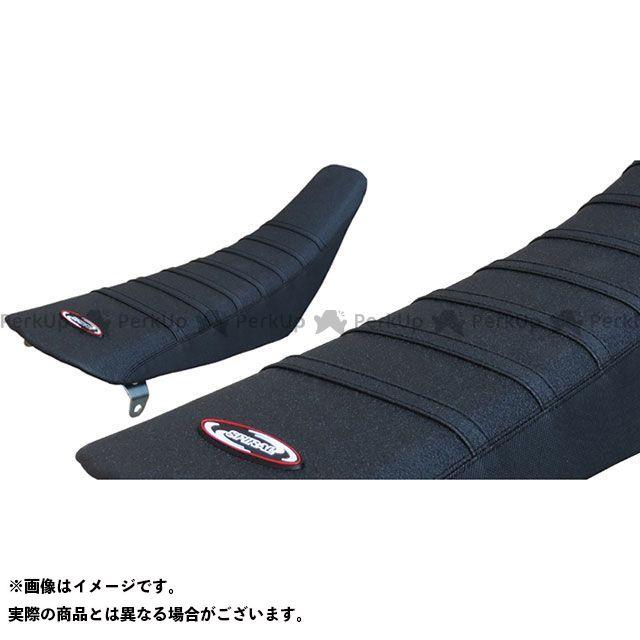 スパイラル RM125 RM250 TABシートカバー(ブラック) SPIRAL