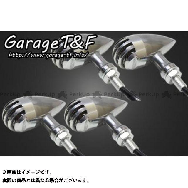 ガレージT&F ドラッグスター400(DS4) バードゲージウィンカータイプ2(ポリッシュ) ダークレンズ仕様キット スタンダードモデル専用 ゲージ:ポリッシュ ステー:メッキ ガレージティーアンドエフ