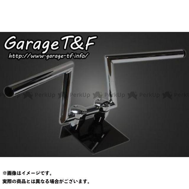 ガレージT&F ロボットハンドル(Ver III) 6インチ 22.2mm カラー:メッキ ガレージティーアンドエフ