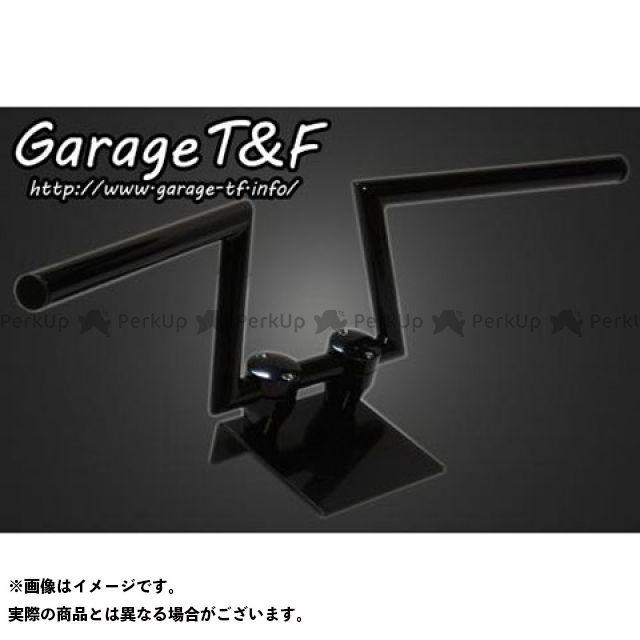 【無料雑誌付き】ガレージT&F ロボットハンドル(Ver III) 6インチ 22.2mm カラー:ブラック ガレージティーアンドエフ