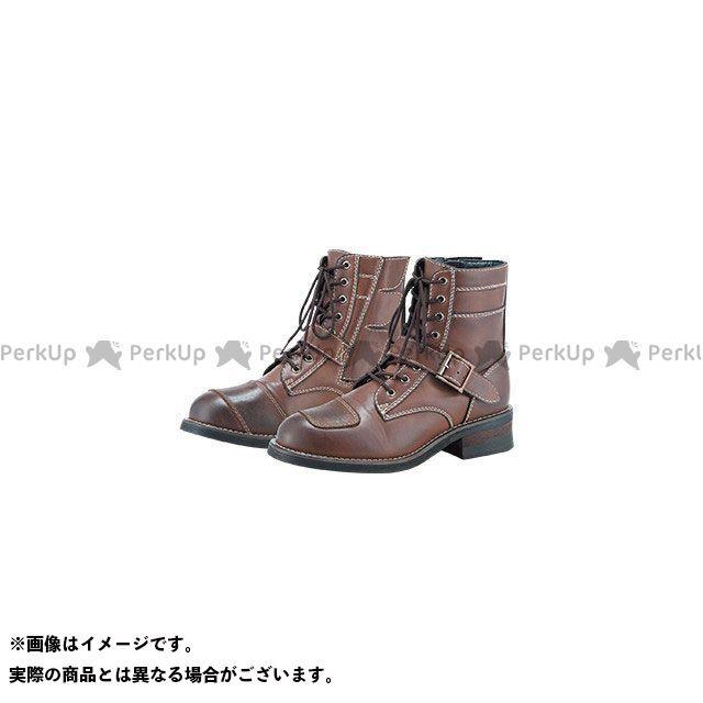 【エントリーで更にP5倍】S:GEAR SPB-002 PU LACEUP BOOTS(ブラウン) サイズ:28.0cm S:GEAR