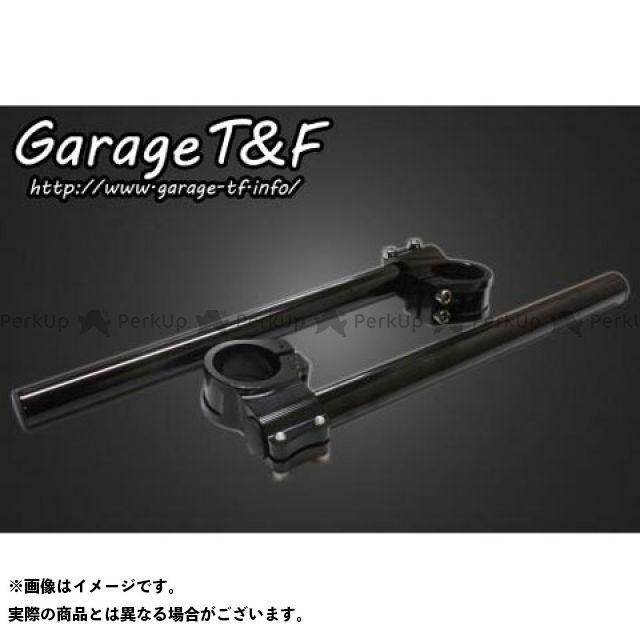【無料雑誌付き】ガレージT&F ドラッグスター250(DS250) SR400 セパレートハンドル22.2mm 35φ カラー:ブラック ガレージティーアンドエフ