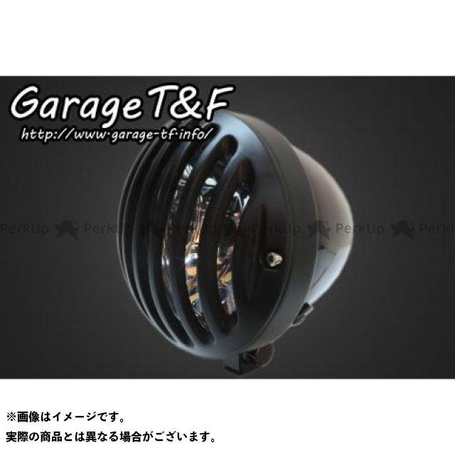 ガレージT&F 汎用 ヘッドライト・バルブ 4.5インチバードゲージヘッドライト ブラック ブラック