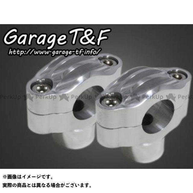 ガレージT&F Vツインマグナ ハンドルポスト関連パーツ ビンテージハンドルポスト1.5インチ ポリッシュ