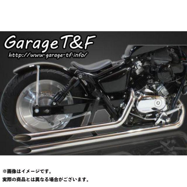 ガレージT&F Vツインマグナ ロングドラッグパイプマフラー タイプ I カラー:ステンレス ガレージティーアンドエフ