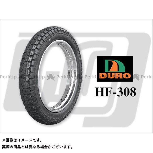 【エントリーで最大P21倍】DURO 汎用 【DURO CLASSIC】HF-308 4.00×19インチ DUROタイヤ デューロ