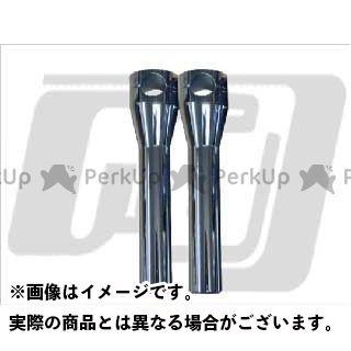 ガッツクローム ハーレー汎用 ハンドルライザー アルミ製クローム サイズ:8インチ GUTS CHROME