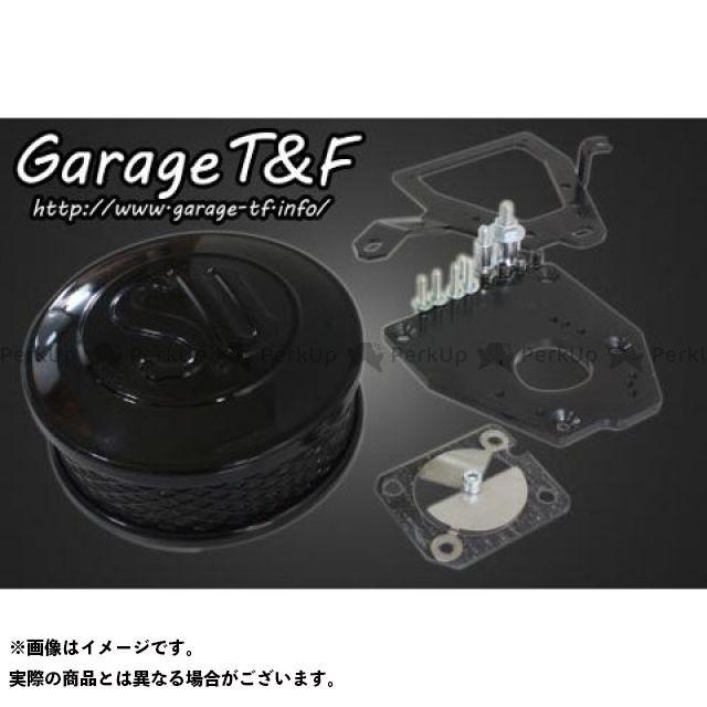 ガレージT&F シャドウ400 エアクリーナー SUエアクリーナーキット ブラック