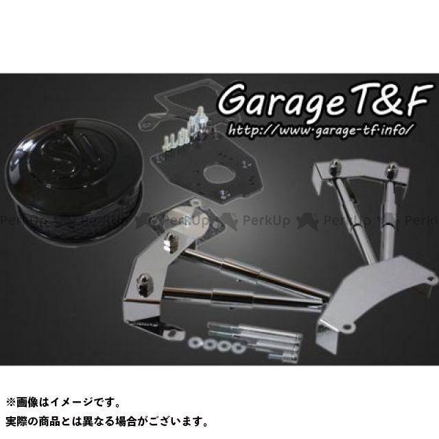 ガレージT&F シャドウ400 エアクリーナー SU&プッシュロッドカバーセット ブラック