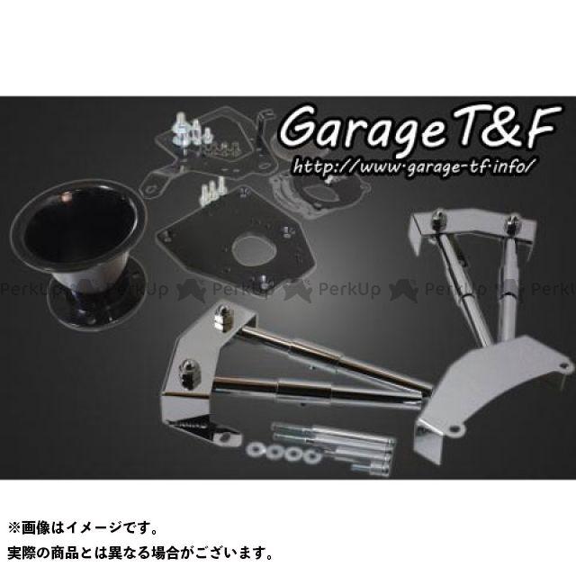 ガレージT&F シャドウ400 その他外装関連パーツ ファンネル&プッシュロッドカバーセット ブラック