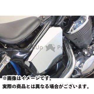 ガレージT&F シャドウ400 メッキサイドカバーキット ガレージティーアンドエフ