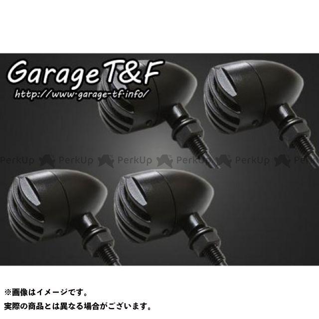 ガレージT&F 汎用 ウインカー関連パーツ バードゲージウィンカータイプ1(ブラック) ダークレンズ仕様 ブラック ステーD