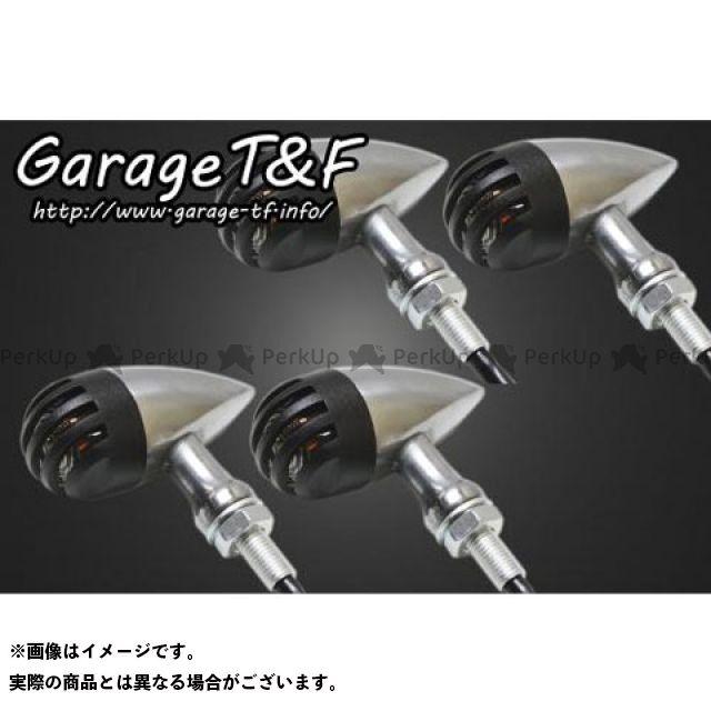 ガレージT&F 汎用 ウインカー関連パーツ バードゲージウィンカータイプ2(ポリッシュ) ダークレンズ仕様 ブラック ステーE