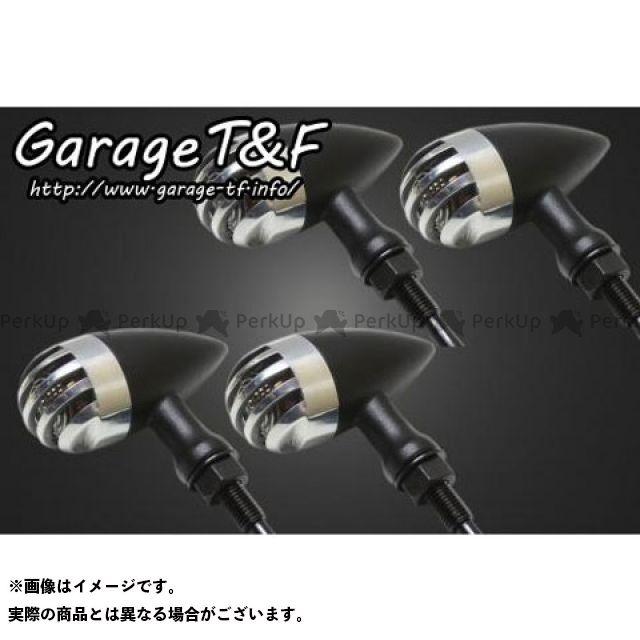 ガレージT&F 汎用 バードゲージウィンカータイプ2(ブラック) ダークレンズ仕様 ゲージ:ポリッシュ ステー:ステーA ガレージティーアンドエフ