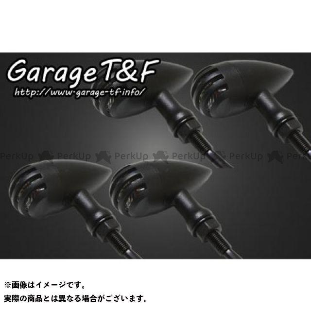 ガレージT&F 汎用 ウインカー関連パーツ バードゲージウィンカータイプ2(ブラック) ダークレンズ仕様 ブラック ステーF