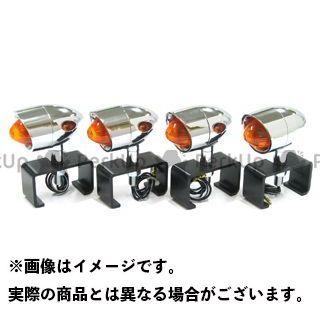 ガレージT&F 汎用 ビレットウィンカー(4ヶセット) ステー:ステーD ガレージティーアンドエフ