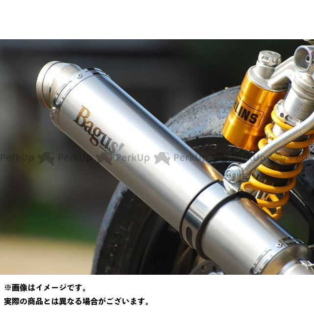 バグース ゼファー750 マフラー本体 オリジナルフルチタンマフラー