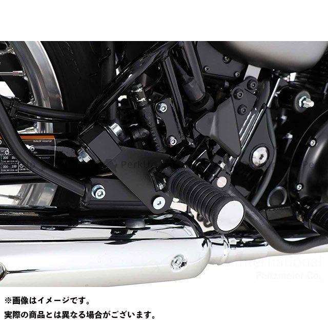 ヘプコアンドベッカー W800 フットレストロワーニング for タンデムライダー (ブラック) HEPCO&BECKER