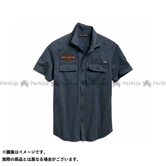 ハーレーダビッドソン シャツS/S Men's Iron & Freedom Shirt サイズ:M HARLEY-DAVIDSON