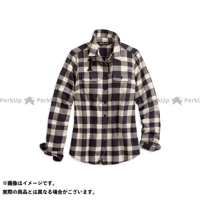 ハーレーダビッドソン LD'SシャツL/S BuffaloCheck PlaidShirt XS HARLEY-DAVIDSON