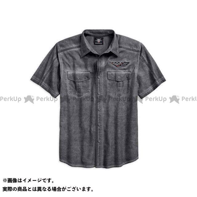 ハーレーダビッドソン シャツS/S/WashedTextured SlubShirt サイズ:M HARLEY-DAVIDSON