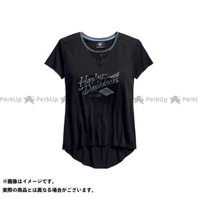 ハーレーダビッドソン LD'S TシャツS/S/Mesh Lace Accent Crossover Tee M HARLEY-DAVIDSON