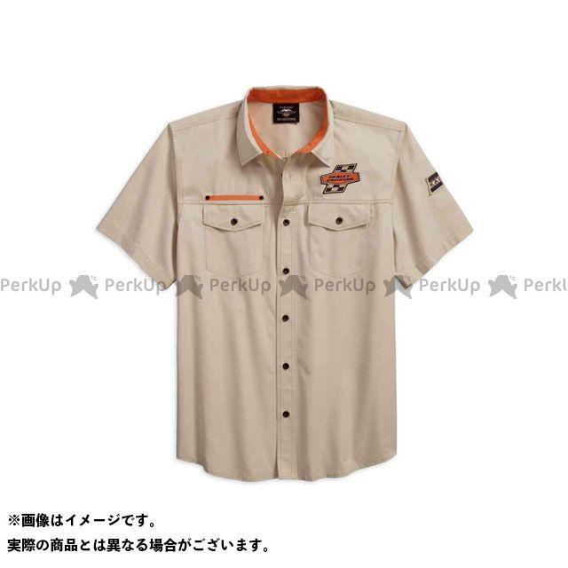 ハーレーダビッドソン シャツS/S /Screamin' Eagle Twill Shirt サイズ:XL HARLEY-DAVIDSON