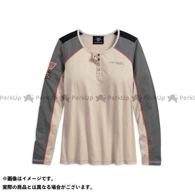 ハーレーダビッドソン LD'S TシャツL/S /Screamin' Eagle Henley サイズ:XS HARLEY-DAVIDSON