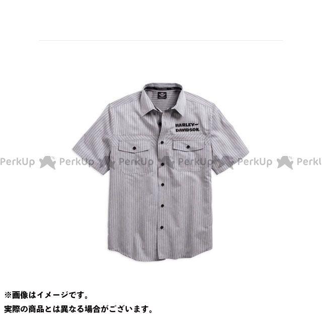 ハーレーダビッドソン シャツS/S Wrinkle-Resistant StripedShirt S HARLEY-DAVIDSON