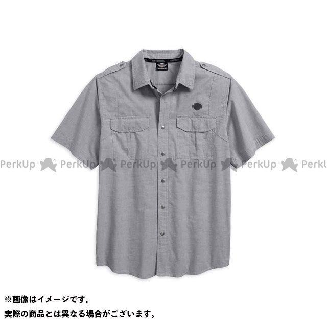 ハーレーダビッドソン シャツS/S Microstripe Shirt サイズ:M HARLEY-DAVIDSON