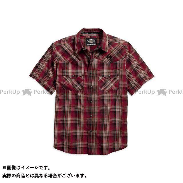 ハーレーダビッドソン シャツS/S Plaid ShortSleeve Shirt サイズ:L HARLEY-DAVIDSON