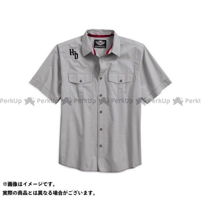 ハーレーダビッドソン シャツS/S Contrast Stitch Shirt サイズ:L HARLEY-DAVIDSON