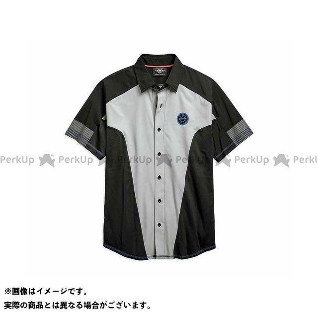 ハーレーダビッドソン シャツS/S/ Performance MeshPanel Shirt サイズ:L HARLEY-DAVIDSON