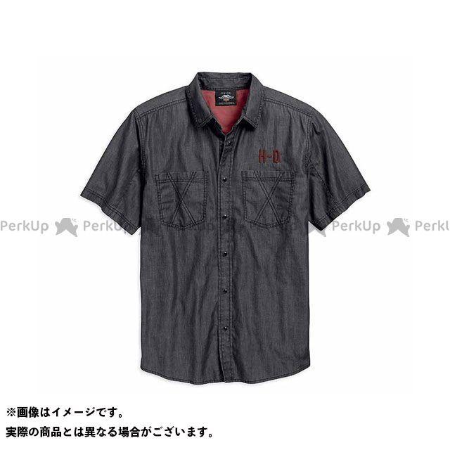 ハーレーダビッドソン シャツS/S/ShortSleeve WovenShirt サイズ:S HARLEY-DAVIDSON