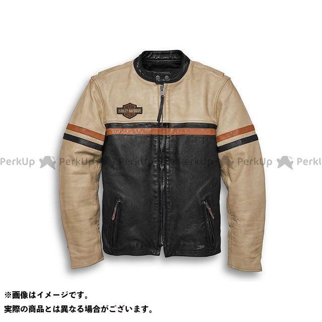 ハーレーダビッドソン レザーJKT/#1 Racing SlimFit Leather Jacket L HARLEY-DAVIDSON