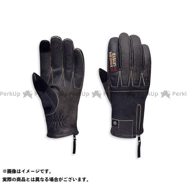 【エントリーで更にP5倍】ハーレーダビッドソン Exhort Leather Gloves サイズ:L HARLEY-DAVIDSON