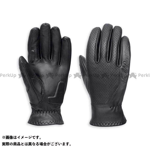 【エントリーで更にP5倍】ハーレーダビッドソン LD'SグローブF/F /Thayne Perforated Leather Gloves サイズ:S HARLEY-DAVIDSON