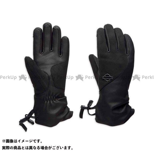 【エントリーで更にP5倍】ハーレーダビッドソン LD'SグローブF/F/JoeveThinsulate(TM) Touchscreen LeatherGloves サイズ:XS HARLEY-DAVIDSON