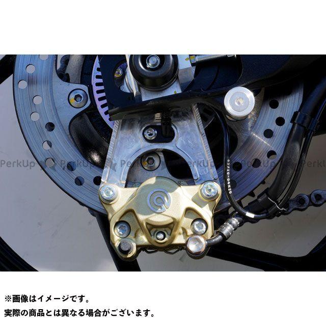 オーバーレーシング カタナ リアキャリパーサポート ブレンボ2P用(シルバーアルマイト) OVER RACING