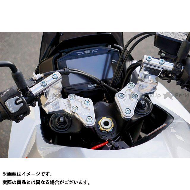 オーバーレーシング カタナ スポーツライディングハンドルキット(シルバーアルマイト) OVER RACING
