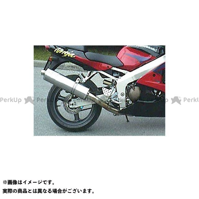 マービング ニンジャZX-6R マービング マフラー ビッグオーバル = 102x130 Superline アルミニウム - EU公道走行認可 for Kawasaki ZX 6 R (98-00) Marving
