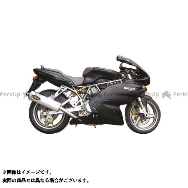 【エントリーで更にP5倍】マービング スーパースポーツ1000 マービング ロー デュアルマフラー スモールオーバル = 94x124 Superline アルミニウム - EU公道走行認可 for Ducati 620/750/800/900 Mar…