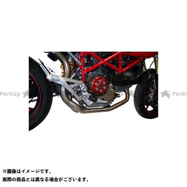 マービング ハイパーモタード1100S マービング マービングとオリジナルマフラー コンペンセイティングパイプ(油圧パイプ) Superline ステンレススチール for Ducati 1100/1100S HYPER Marving