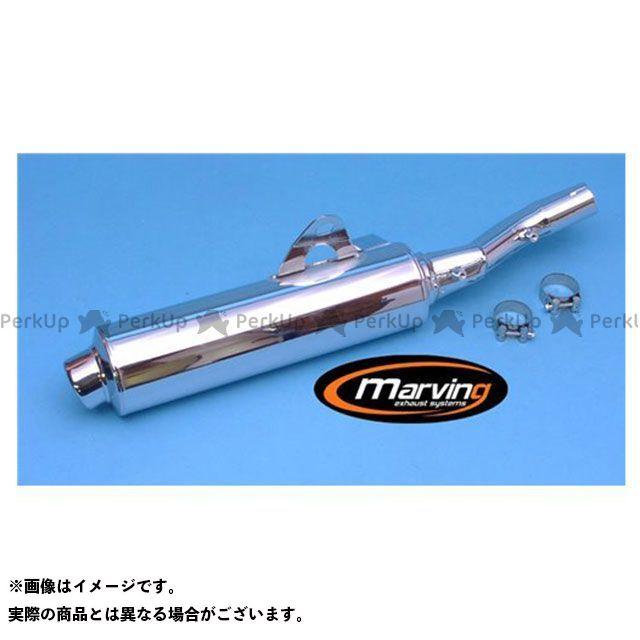 マービング その他のモデル マービング マフラー Cylindrical 110 クロム - EU公道走行認可 for Honda NTV 650 REVERE (95-96) Marving