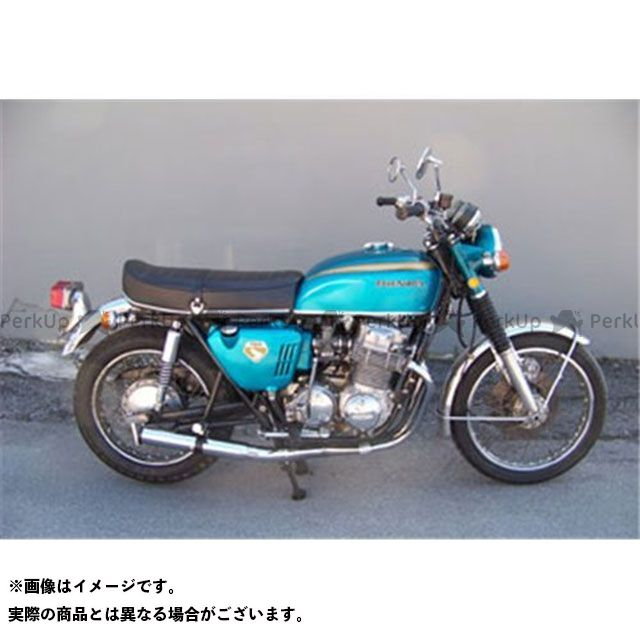 マービング ドリームCB750フォア マービング フルシステム 4/1 レーシング クロム for Honda CB 750 Four Marving