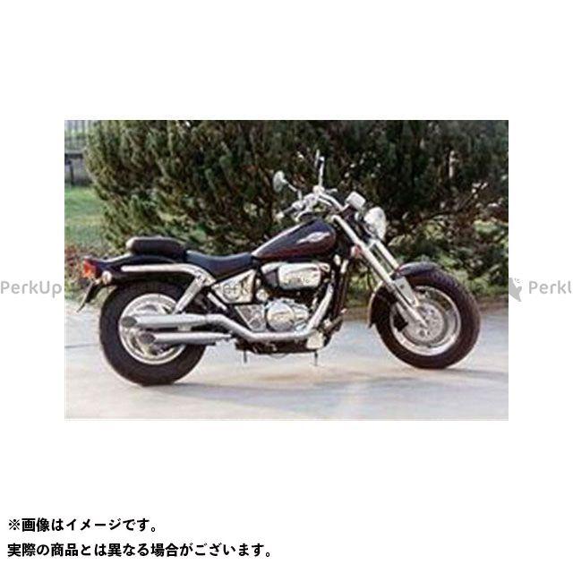 マービング その他のモデル マービング デュアルマフラー Legend クロム for Suzuki VZ 800 MARAUDER (97-98) Marving