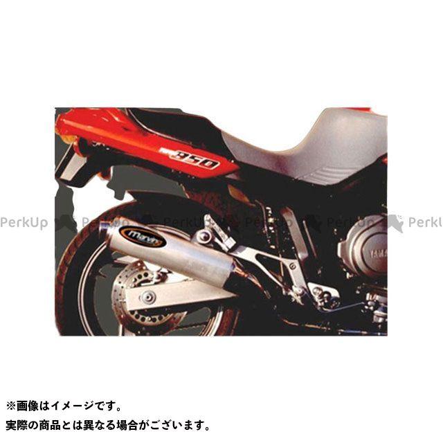 マービング TDM850 マービング デュアルマフラー Cylindrical 100 クロム + アルミニウム - EU公道走行認可 for Yamaha TDM 850 (91-) Marving