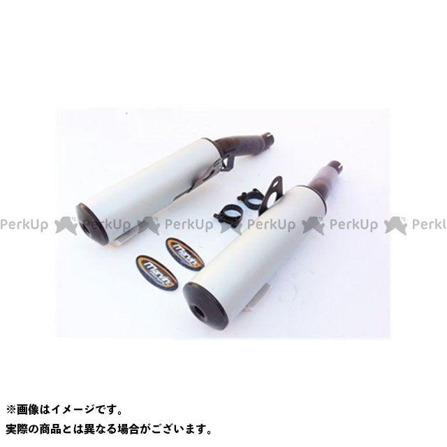 マービング Z1000 マービング デュアルマフラー Cylindrical 100 ブラック + アルミニウム - EU公道走行認可 for Kawasaki Z 1000 GTR Marving