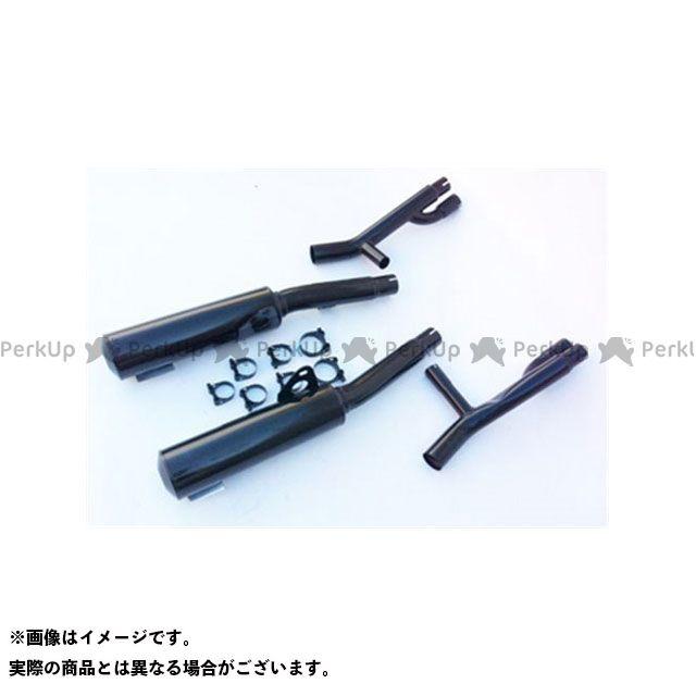 マービング ニンジャZX-10 マービング デュアルマフラー Cylindrical 100 ブラック - EU公道走行認可 for Kawasaki ZX10 1000 (88) Marving